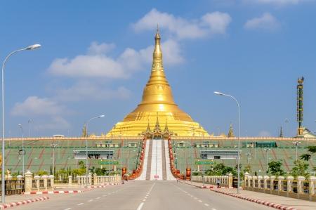 首都ネピドー Uppatasanti パゴダ