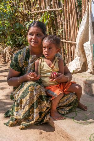 periyar: Woman with Child from Periyar - India Editorial