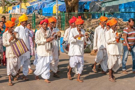 procession: Procesi�n en Chamundi Hills - Mysore