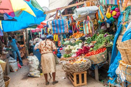 コパン - ホンジュラスの野菜市場
