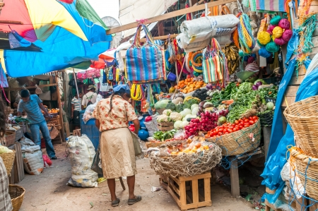 marketeer: Vegetables Market in Copan - Honduras