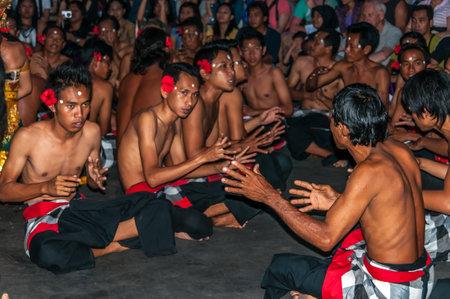 kecak: Kecak Dancing  Ramayana  Bali - Indonesia