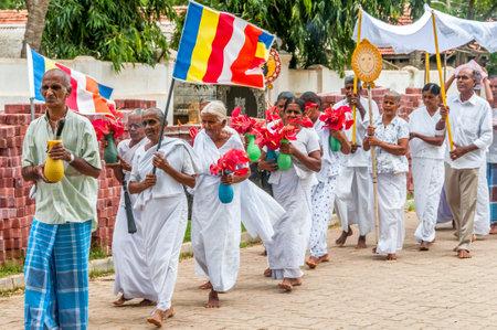 anuradhapura: Buddhist Procession in Anuradhapura - Sri Lanka