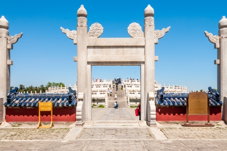 Entrance to Temple of Heaven - Beijing