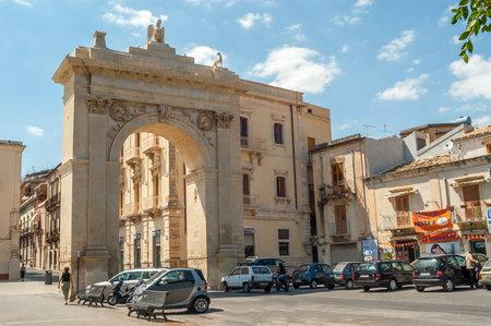 reale: Porta Reale in The Noto Editorial