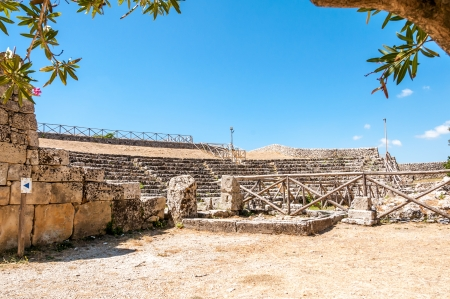 palazzolo: The Greek Theater in the ancient Akrai - Palazzolo Acreide