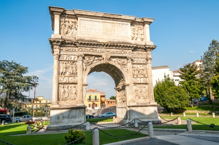 The Arch of Trajan in Benevento