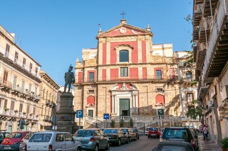 sant agata: Chiesa di Sant Agata in Caltanissetta