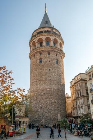 ガラタ塔トルコイスタンブールガラタの Kulesi - イスタンブール