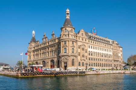 haydarpasa: Haydarpasa railway terminal in the Asian part of Istanbul