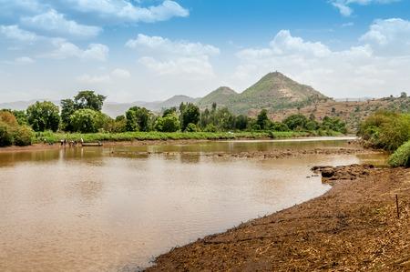 Blue Nile is a river originating at Lake Tana in Ethiopia