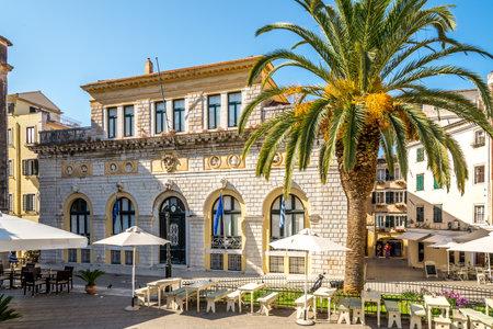 san giacomo: CORFU, GREECE - AUGUST 2,2014 - Nobile Teatro di San Giacomo di Corfu - Greece Now Corfu City Hall