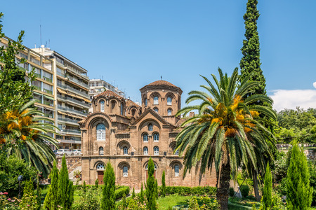 Panagia Chalkeon church in Thessaloniki Stock Photo