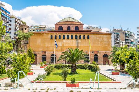 Hagia Sophia church in Thessaloniki - Greece Stock Photo