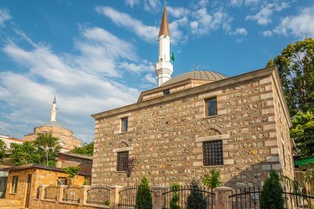 mustafa: Isa Bey and Mustafa Pasha mosque in Skopje Stock Photo