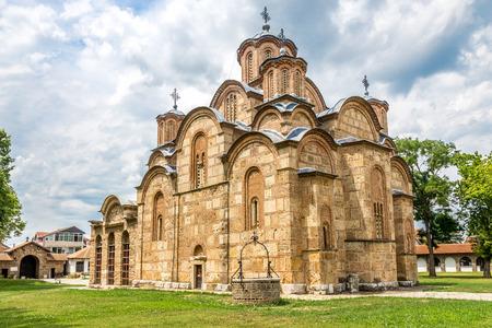 Gracanica - コソボであるセルビアの正教会修道院