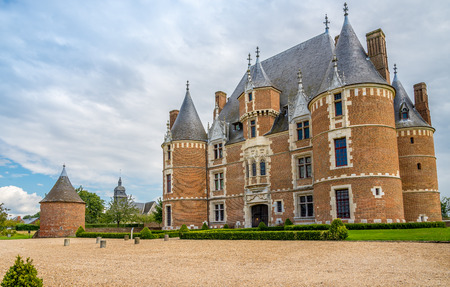 turret: Castle Martainville with turret in France