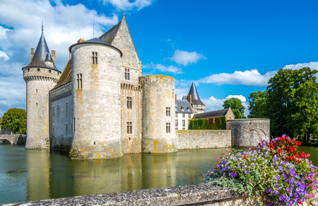 sully: Chateau of Sully sur Loire in France