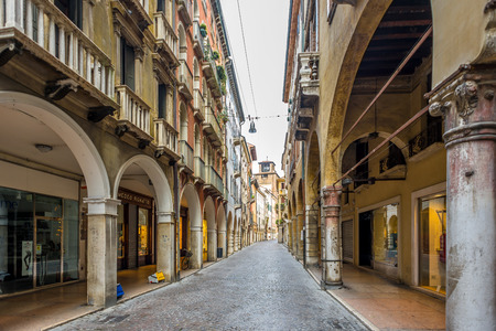 treviso: TREVISO,ITALY - SEPTEMBER 13,2014 - In the streets of Treviso. Treviso stands at the river Sile in region Veneto.