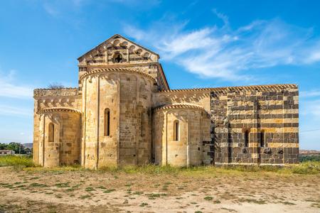 san michele: Old church San Michele di Salvenero - Sardinia,Italy
