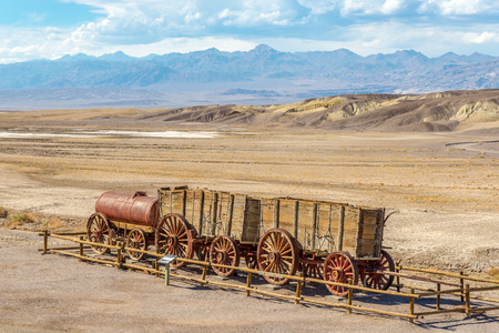 DEATH VALLEY MAY USA 232 015 The Harmony Borax Works is Located in Death Valley at Furnace Creek is Springs.It Located within Death Valley National Park in Inyo County.