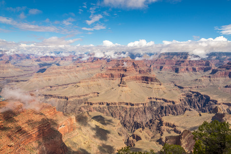 hopi: View from Hopi Point North Rim of Grand Canyon