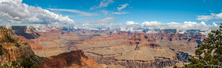 hopi: Grand Canyon panorama view from Hopi Point Stock Photo