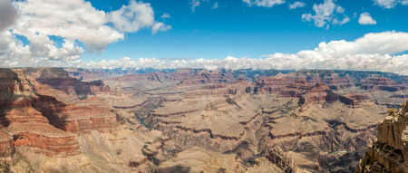 pima: Panoramic view at the Grand Canyon from Pima point