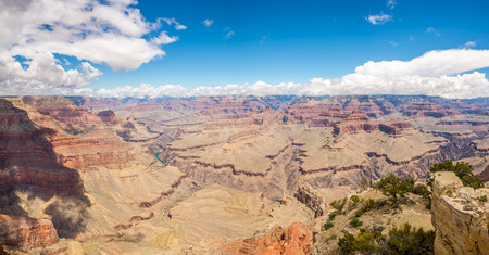 pima: Panoramic view at North Rim of Grand Canyon from Pima point