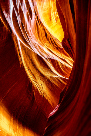 geologists: Inside the Antelope Canyon Navajo Tribe Park