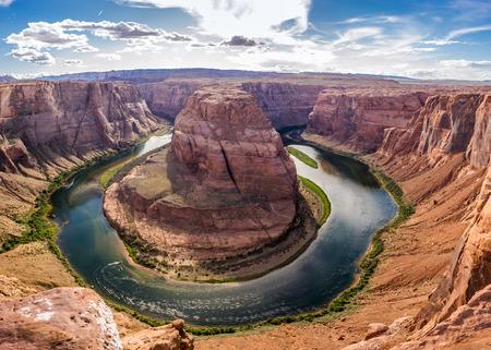 Horseshoe Bend with Colorado river Reklamní fotografie