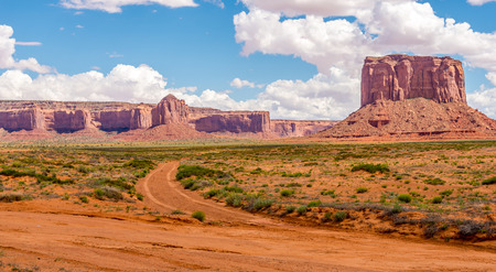 geologists: Rock formations near Monument Valley Navajo Tribe Park