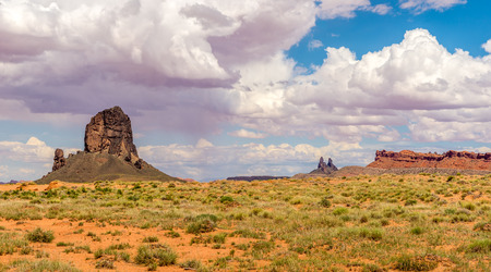 geologists: Rock formations on the way to Monument Valley Arizona