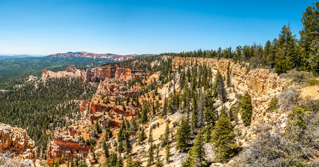 geologists: Panoramic view from Farview point at the Bryce Canyon