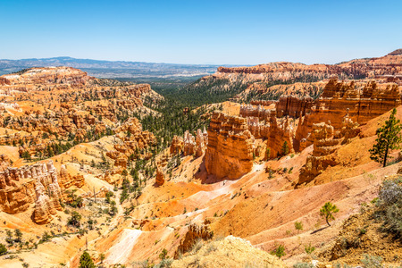 geologists: View from Sunset Point at the Bryce Canyon - Utah