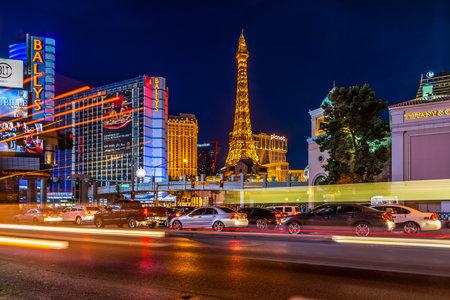 incorporated: LAS VEGAS, NEVADA - JUNE 3,2015 - In the streets of Las Vegas. Las Vegas was established in 1905. Las Vegas was incorporated as a city in 1911. Editorial
