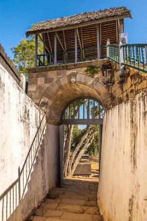 madagascar: Gateway to Royal palace in Ambohimanga - Madagascar