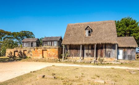 tumbas: Museum and Royal tombs at the Antsahadinta hill - Madagascar