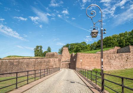 belfort: Fortress in Belfort - France