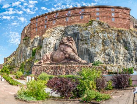 belfort: Belfort - Memorial of Franco Prussian War
