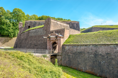 belfort: Gate to Belfort Citadel - France