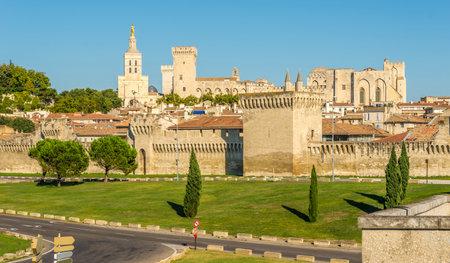 avignon: Palace of the Popes in Avignon - France