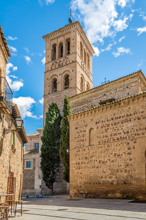 toledo: TOLEDO,SPAIN - APRIL 23,2016 - Museum of the Councils and Visigoth Culture in Toledo. Toledo is known as City of the Three Cultures . Editorial