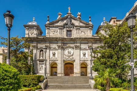 barbara: Church of Santa Barbara in Madrid - Spain