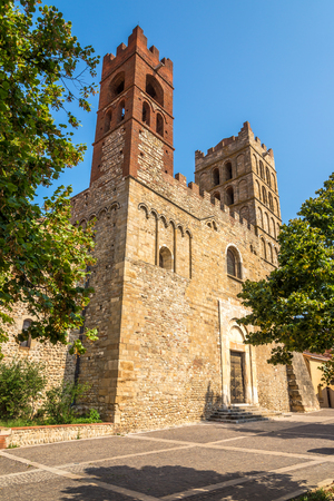saint: Cathedral of Saint Eulalia and Saint Julia in Elne