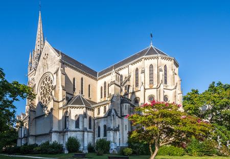 saint martin: Church of Saint Martin in Pau - France
