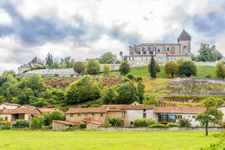 Cathedral of Notre Dame Sainte Marie in Saint Bertrand de Comminges - France