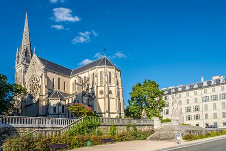 saint martin: View at the Church of Saint Martin in Pau