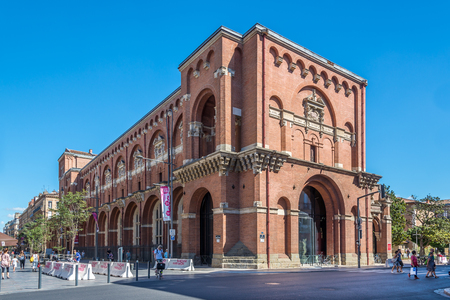 TOULOUSE,FRANCE - AUGUST 30,2016 - Museum of Augustins in Toulouse. Toulouse is the capital city of the southwestern French department of Haute-Garonne, as well as of the Occitanie region.