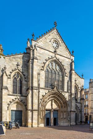 pierre: Church of Saint Pierre in Bordeaux ,France